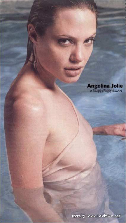 アンジェリーナジョリーのお宝エロ画像
