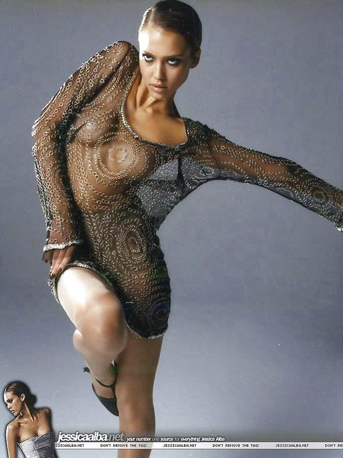 ジェシカアルバの隠し撮りエロ画像
