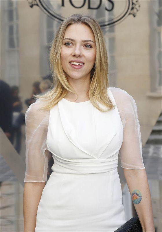 スカーレットヨハンソンのヌード乳首エロ画像