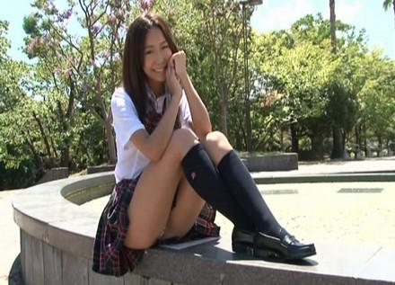 SKE48野々山茉琳のAV女優エロ画像