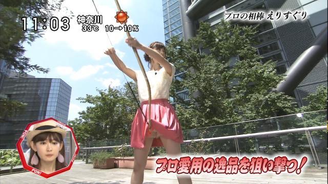 新井恵理那のエロおっぱい画像