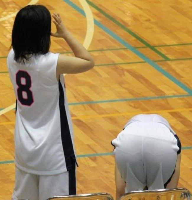 バスケの放送事故お宝エロ画像