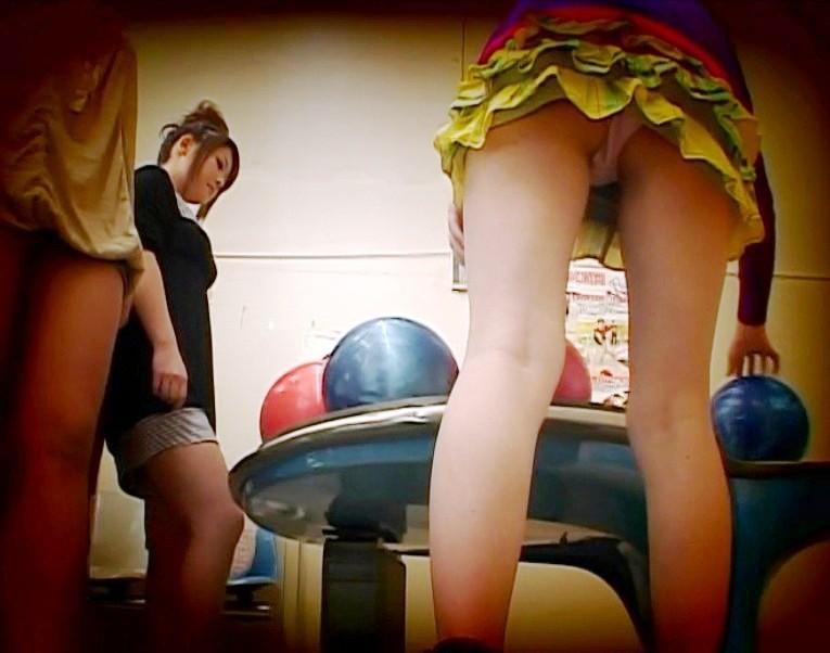 ボウリングのお宝エロ画像