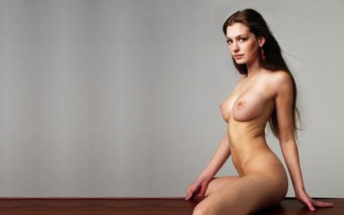 アン・ハサウェイ女優のセクシーエロ画像