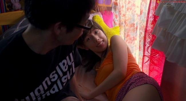 仲里依紗の乳揉みのエロGIFでマンコエロ