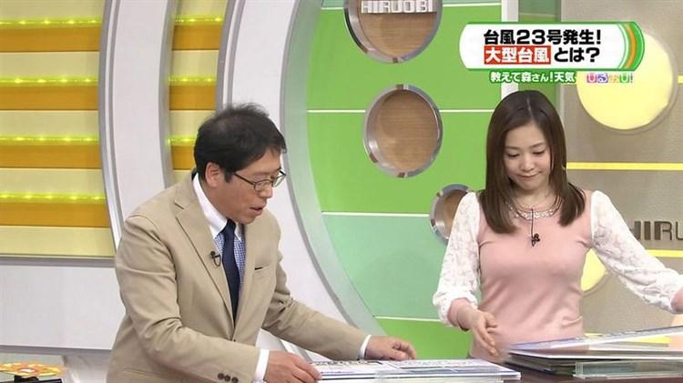 江藤愛モロにパンチラや放送事故画像