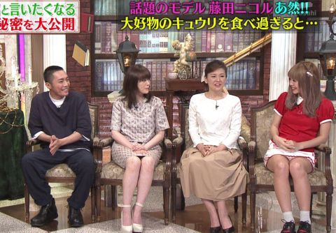 藤田ニコルの乳首ポロリしたヌードエロ画像や胸チラ