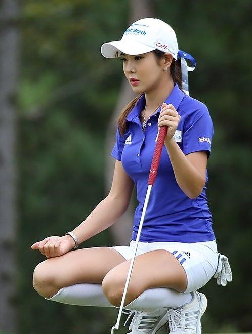 アンシネ女子ゴルフのアダルトエロ画像