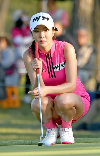 アンシネ女子ゴルフのエロ画像