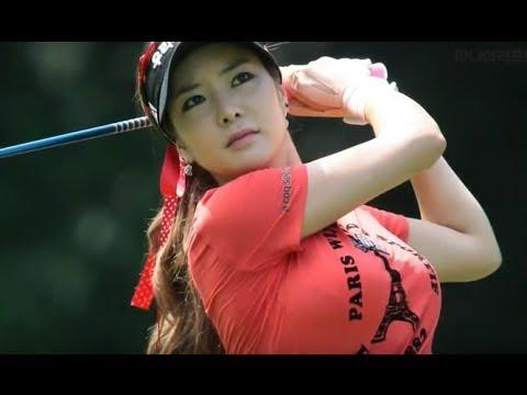アンシネ女子ゴルフの無修正AVエロ画像