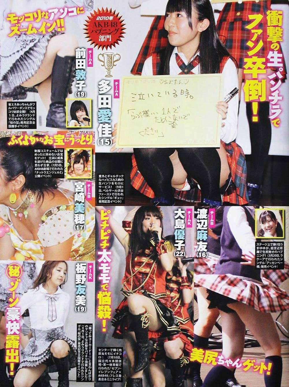 板野友美モロにマンスジやハミマンエロGIF画像