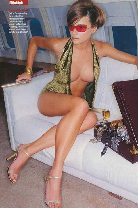 トランプの娘「イヴァンカ」のおっぱい丸出しで全裸でエロ画像