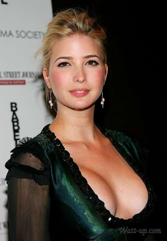 トランプの娘「イヴァンカ」の巨乳爆乳なおっぱいエロ画像がセクシーすぎる