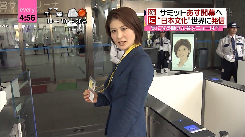 女子アナ鈴江奈々のエロ画像とお宝エロ画像