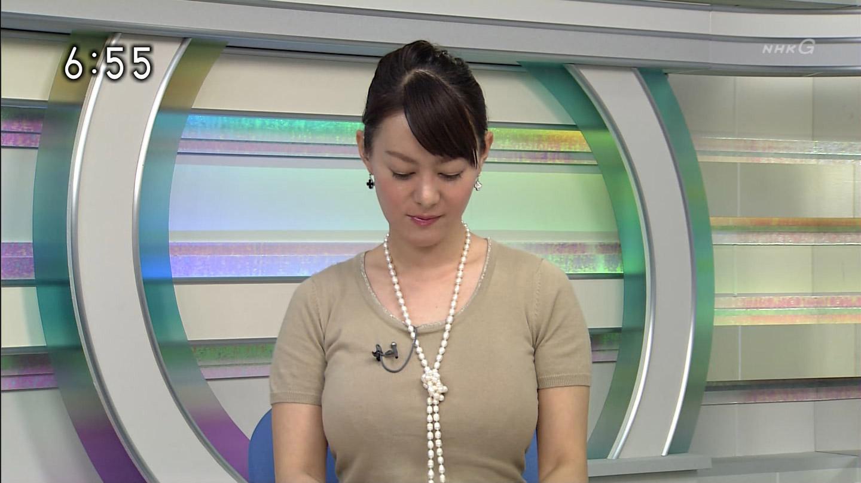 女子アナ竹中知華のセクシー水着エロ画像が放送事故