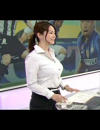 女子アナ杉浦友紀モロにマンスジやハミマンエロGIF画像