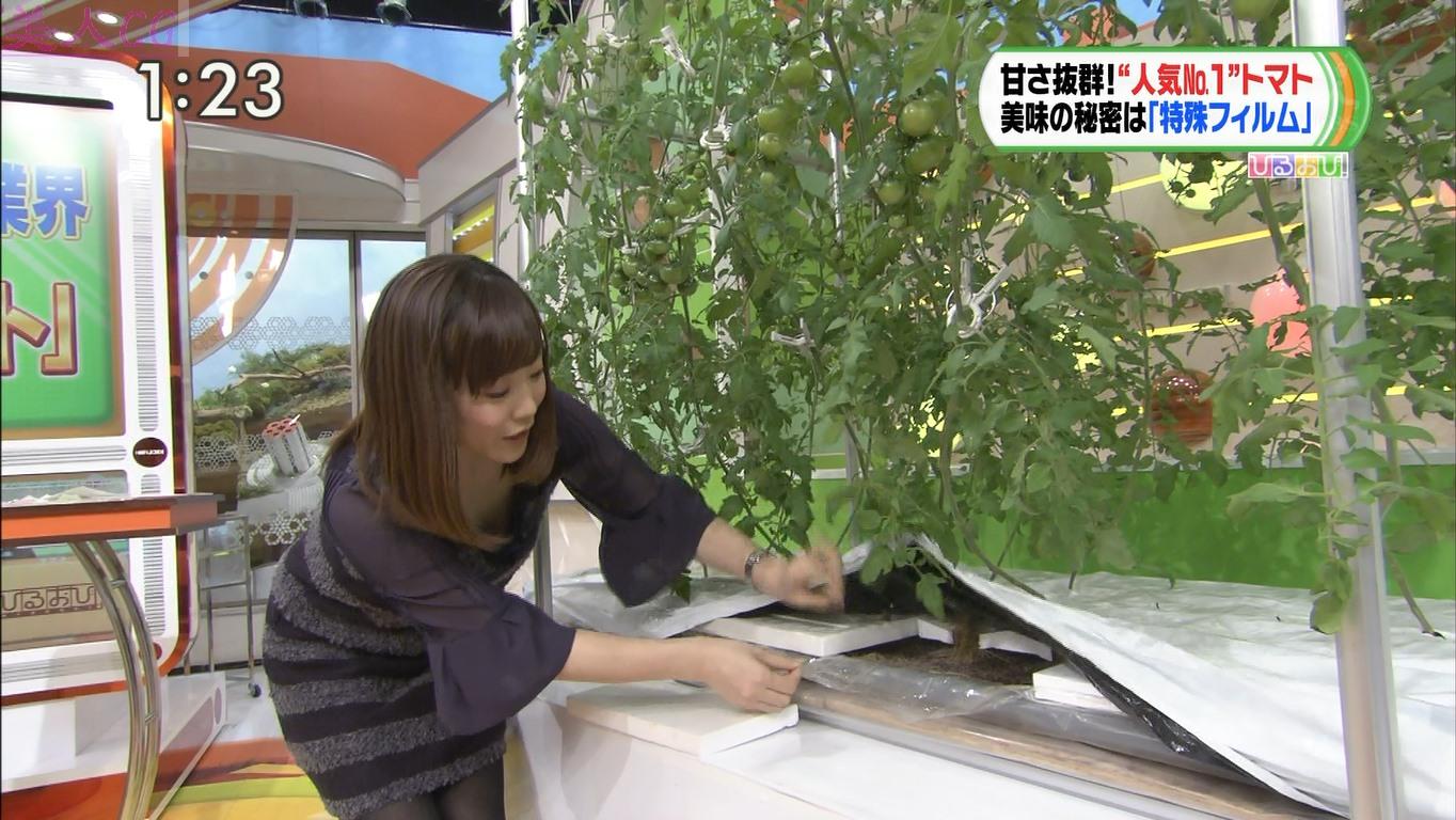女子アナ江藤愛の下着丸見えパンチラエロ画像が抜ける