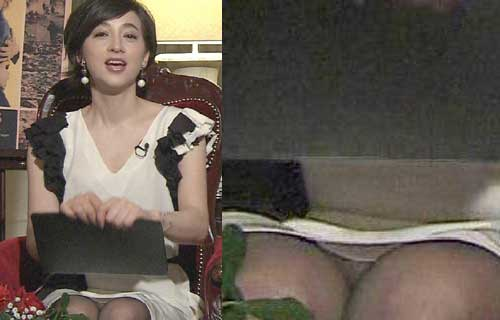 女子アナの巨乳爆乳なおっぱいエロ画像がセクシーすぎる