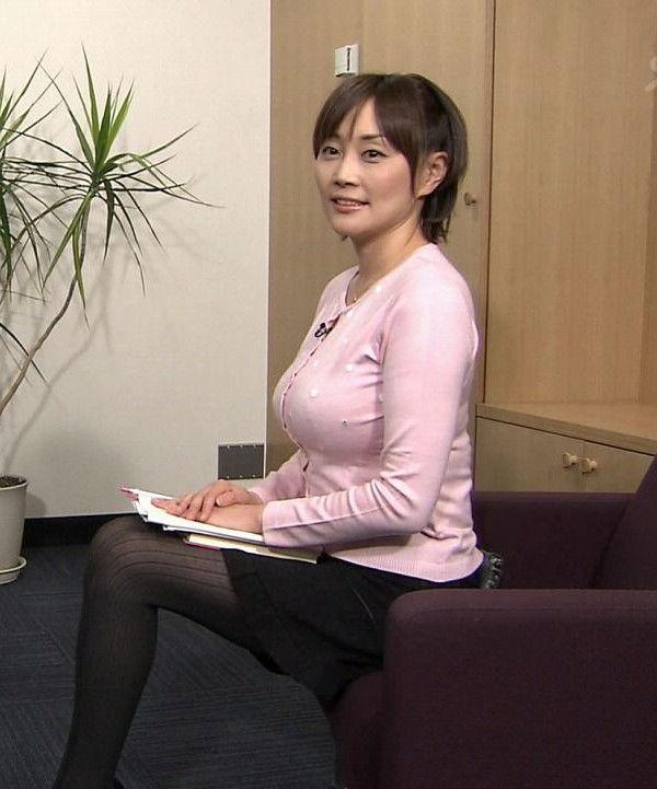 女子アナ熊谷明美の無修正アイコラセックスエロ画像