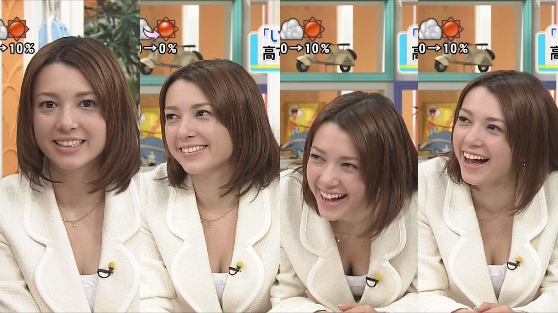 女子アナ葉山エレーヌの巨乳爆乳なおっぱいエロ画像がセクシーすぎる