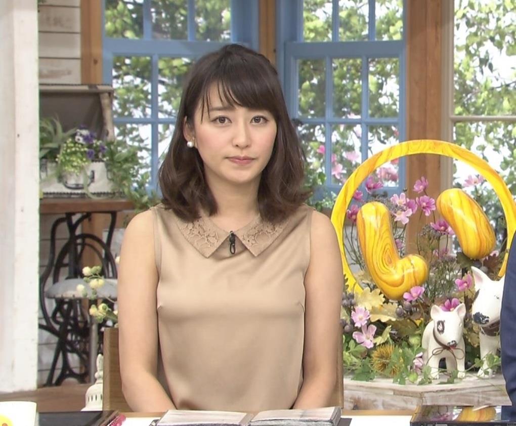 女子アナモロにマンスジやハミマンエロGIF画像