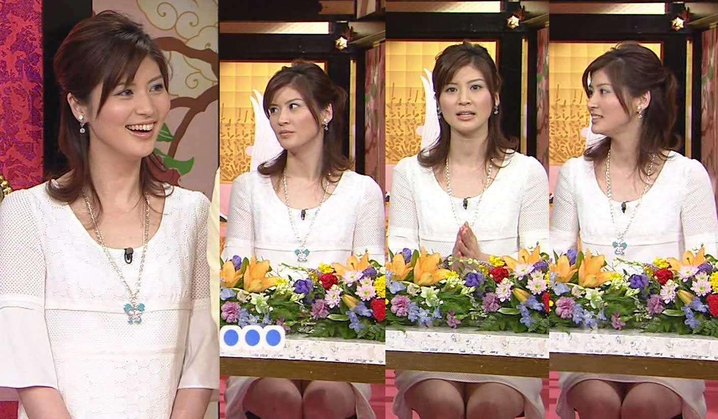 女子アナ鈴江奈々の巨乳爆乳なおっぱいエロ画像がセクシーすぎる