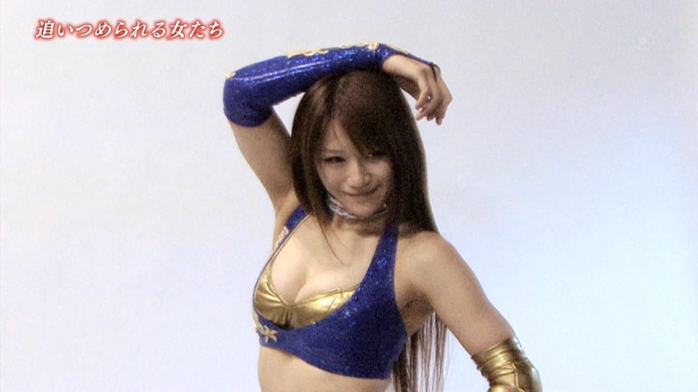 女子プロレスの巨乳爆乳なおっぱいエロ画像がセクシーすぎる