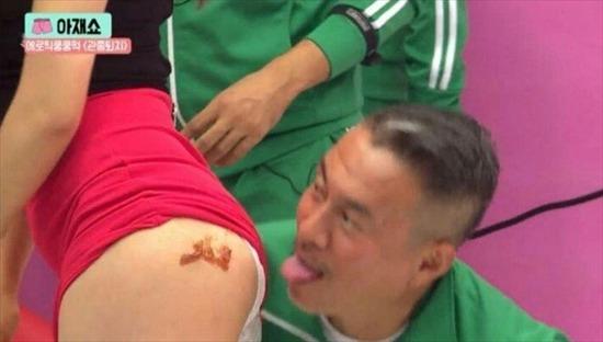 韓国のおっぱい丸出しで全裸でエロ画像