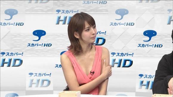加藤夏希の放送事故お宝エロ画像