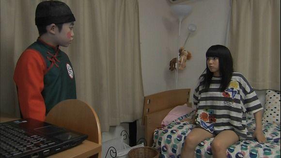 川島海荷モロにマンスジやハミマンエロGIF画像