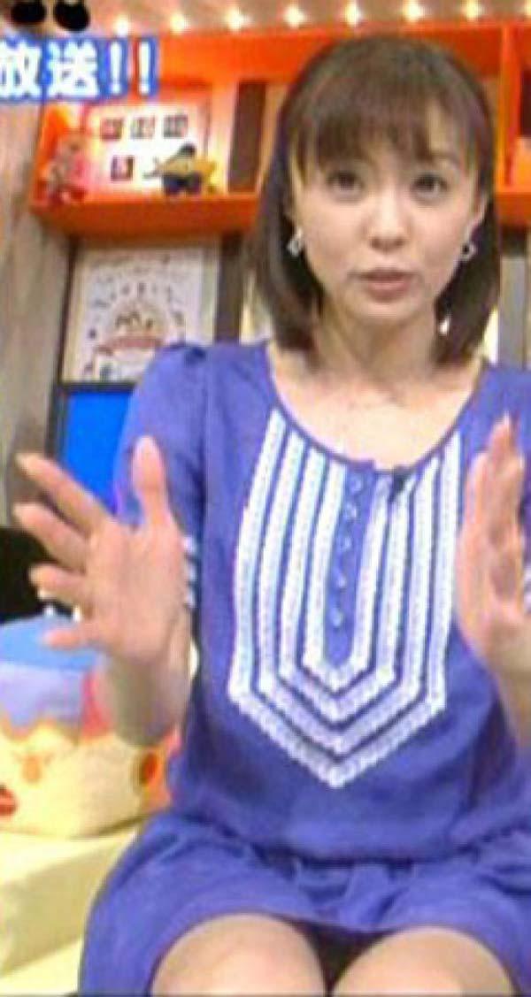 小林麻耶の下着丸見えパンチラエロ画像が抜ける