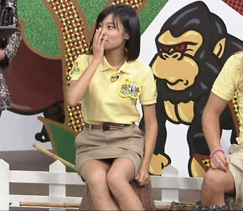 小島瑠璃子のセクシー水着エロ画像が放送事故