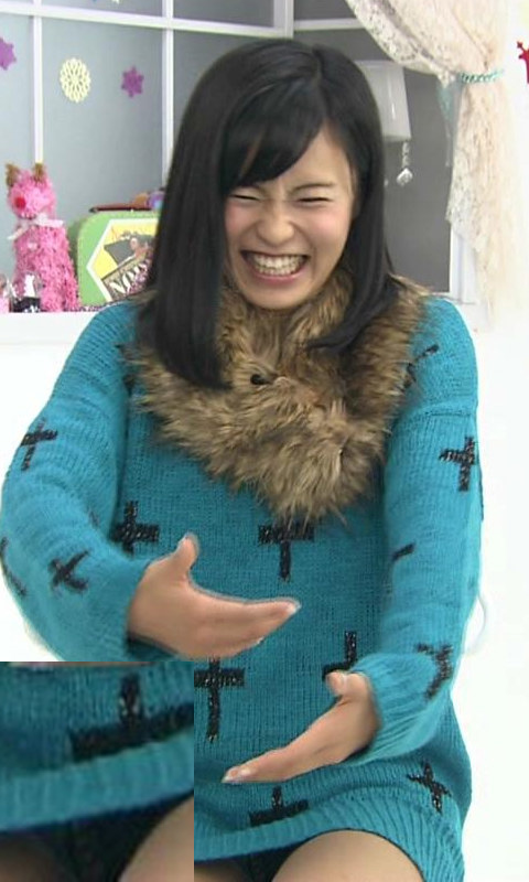 小島瑠璃子モロにマンスジやハミマンエロGIF画像