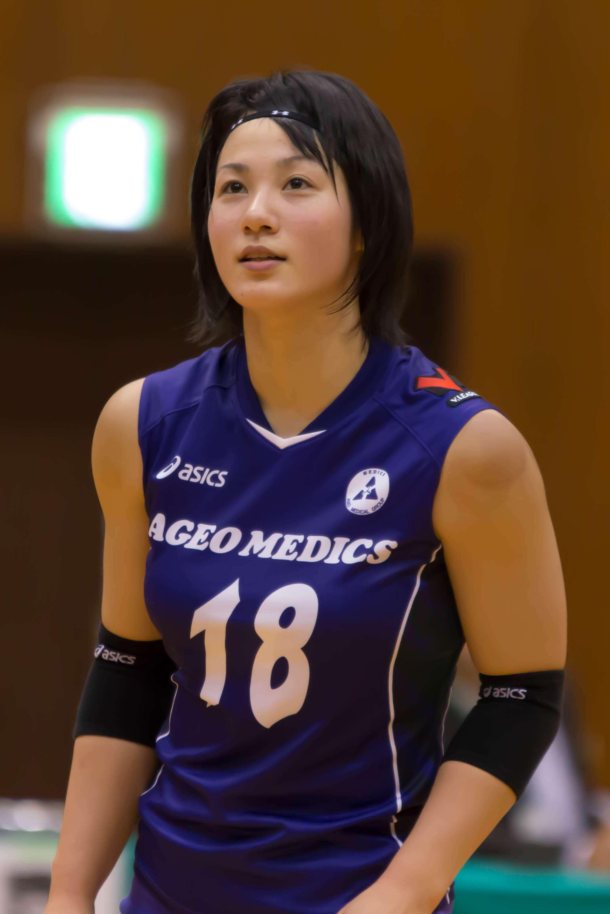 女子バレー吉村志穂の巨乳のエロ画像