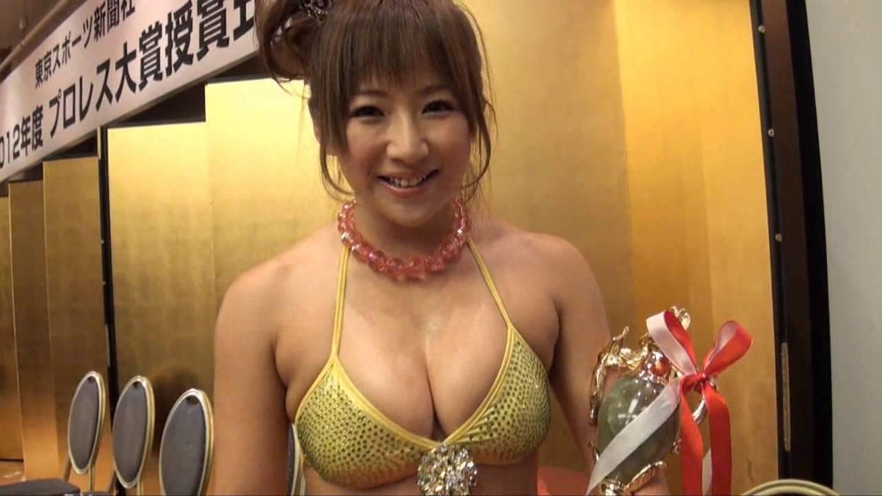 巨乳の女子プロレスは愛川ゆず季のおっぱいエロ画像