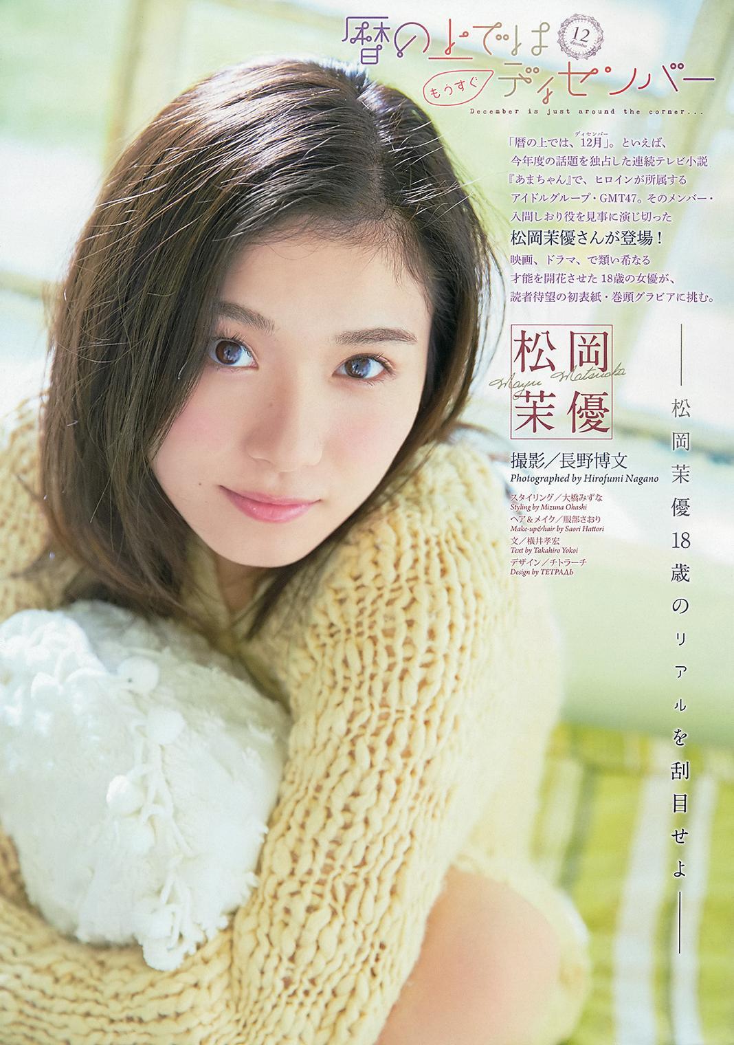 松岡茉優のお宝エロ画像