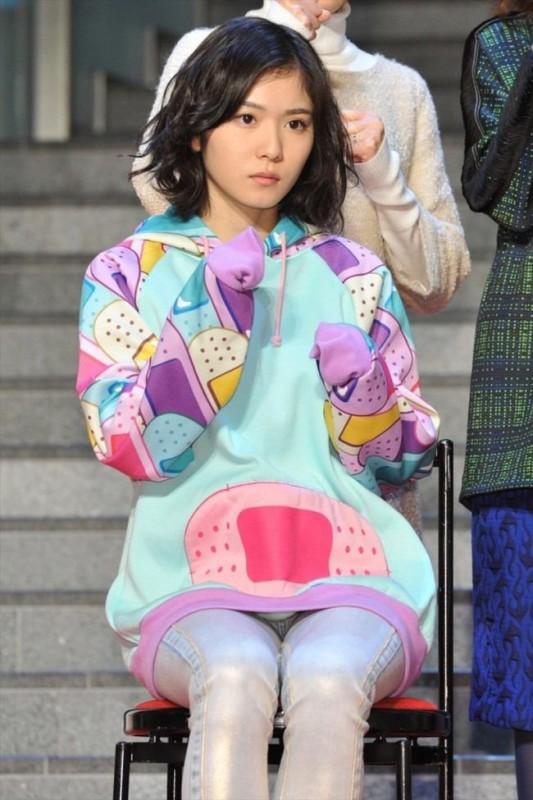 松岡茉優のアイコラ