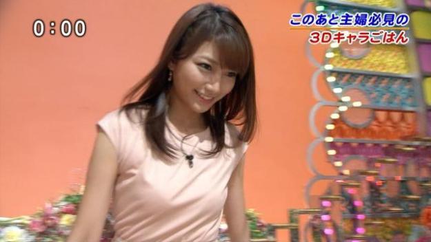 三田友梨佳の放送事故お宝エロ画像
