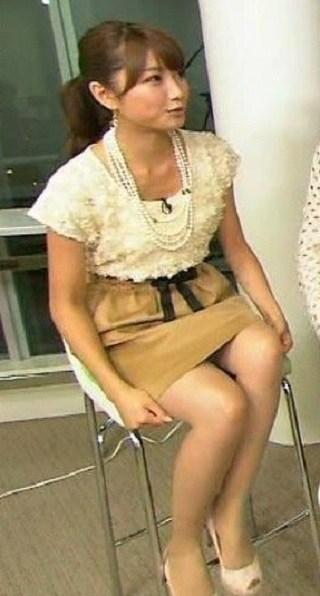 三田友梨佳のパンツ丸出しエロ画像