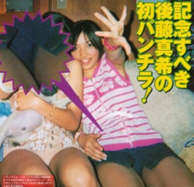 モーニング娘の巨乳で胸チラエロ画像