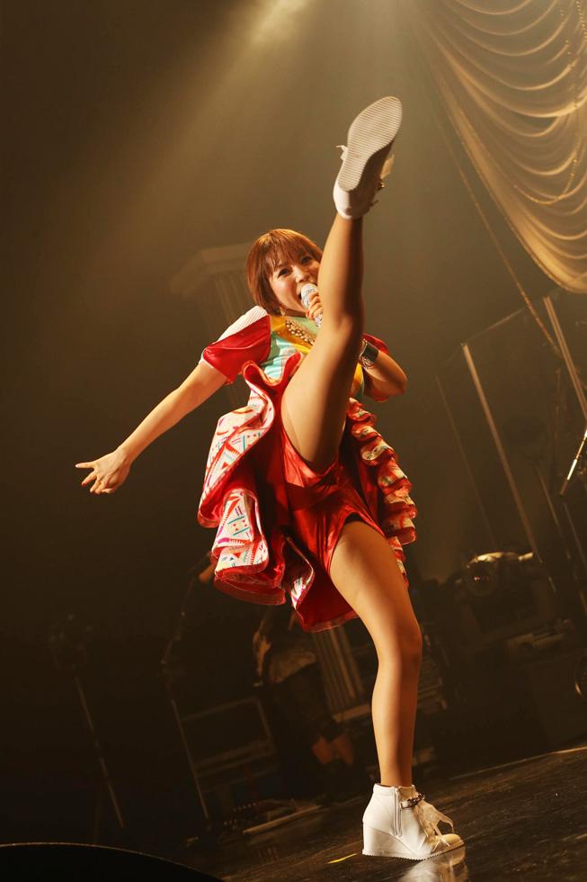 中川翔子モロにマンスジやハミマンエロGIF画像