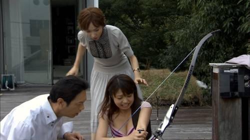 中村静香のAV水着エロ画像