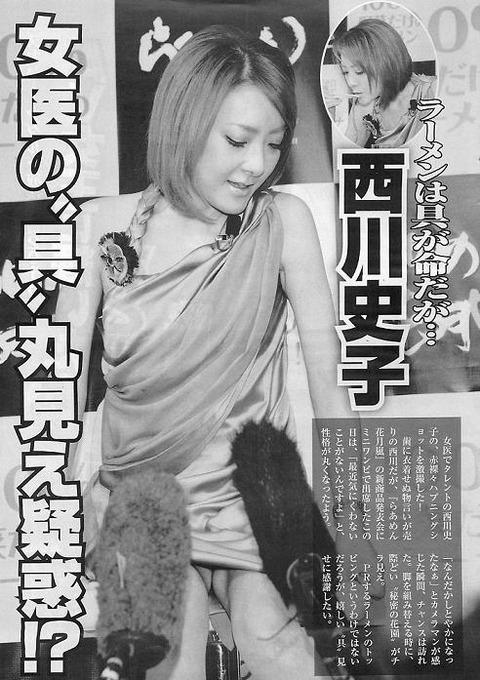 西川史子のアイコラ