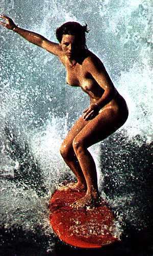 サーフィン全裸の全裸ヌードで露出画像