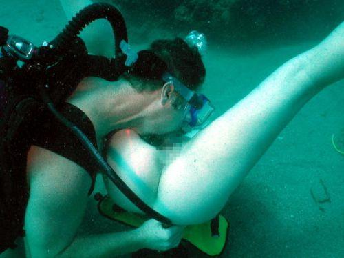 スキューバダイビングのAVエロ画像