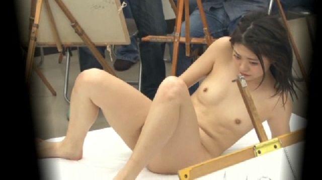 ヌード撮影会のセックスエロ画像