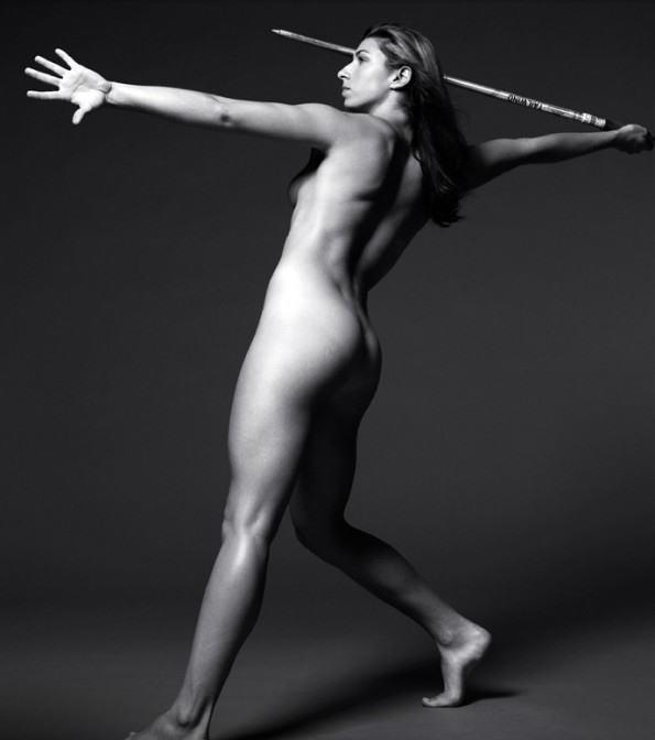 全裸スポーツのお宝エロ画像