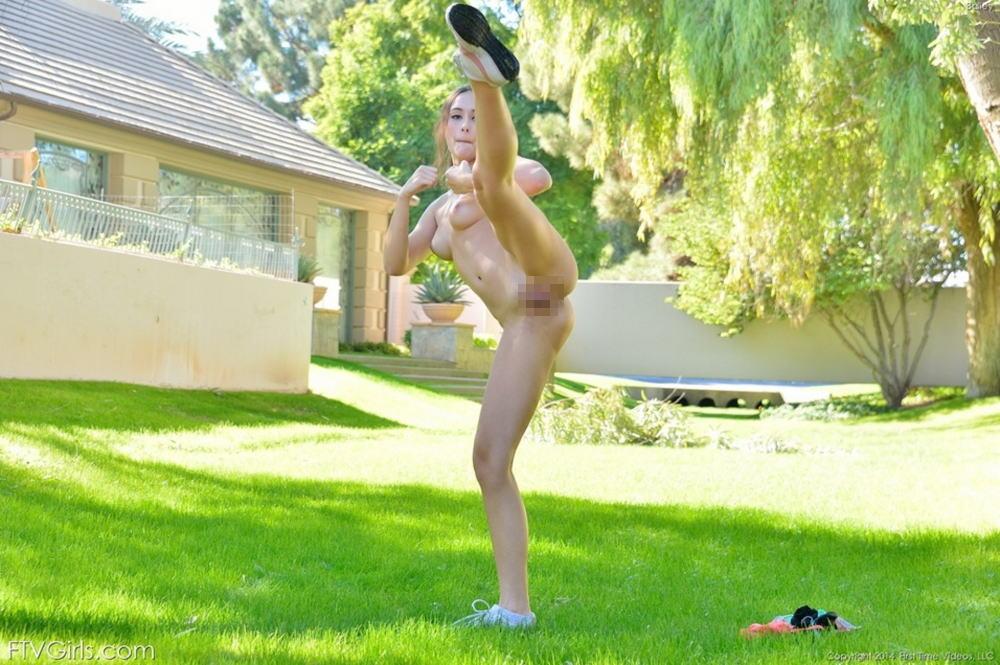 全裸格闘技のお宝エロ画像