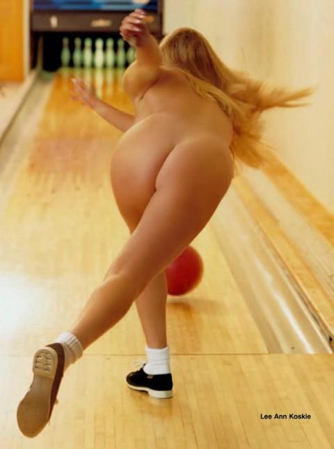 全裸スポーツのエロ画像