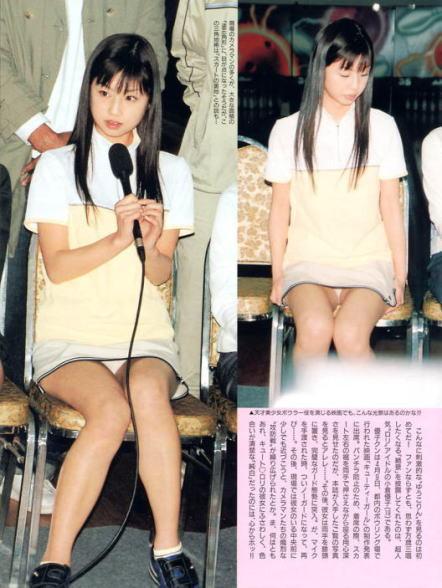 小倉優子の下着エロ画像